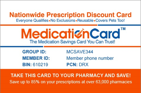 Pharmacy Aid Card Front